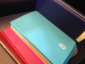 colorful moleskine planners
